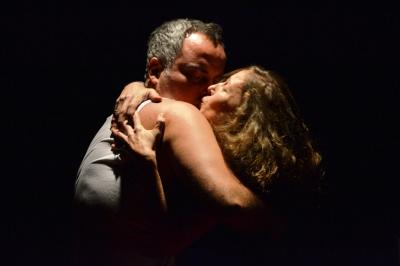 Os atores Saulo Rodrigues e Ângela Câmara / Foto: apetecer.com - arquivo