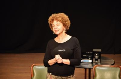 Márcia do Valle, coordenadora do projeto