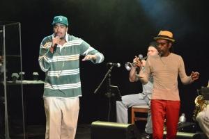 Luiz Melodia recebe no show a participação de seu filho, Mahal Reis  Foto: apetecer.com