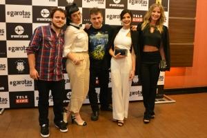 """Elenco, diretor e produtor de """"#Garotas - o Filme"""" Foto: apetecer.com"""