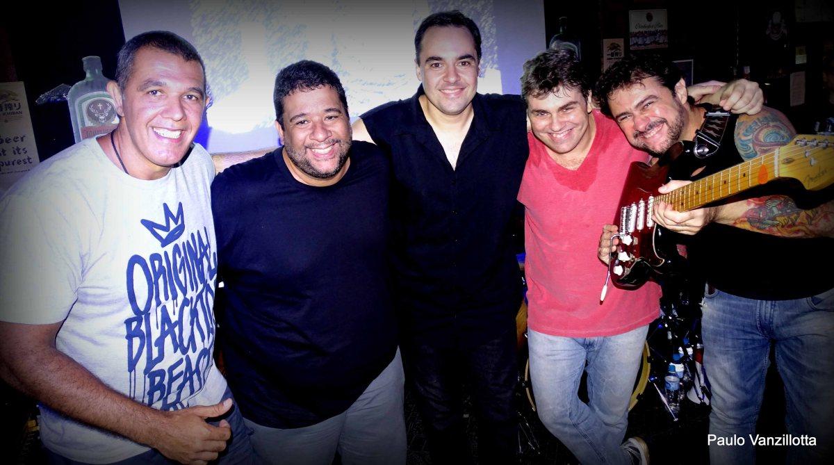 Banca do Blues Rock Fest – Banda A-ha Cover Rio