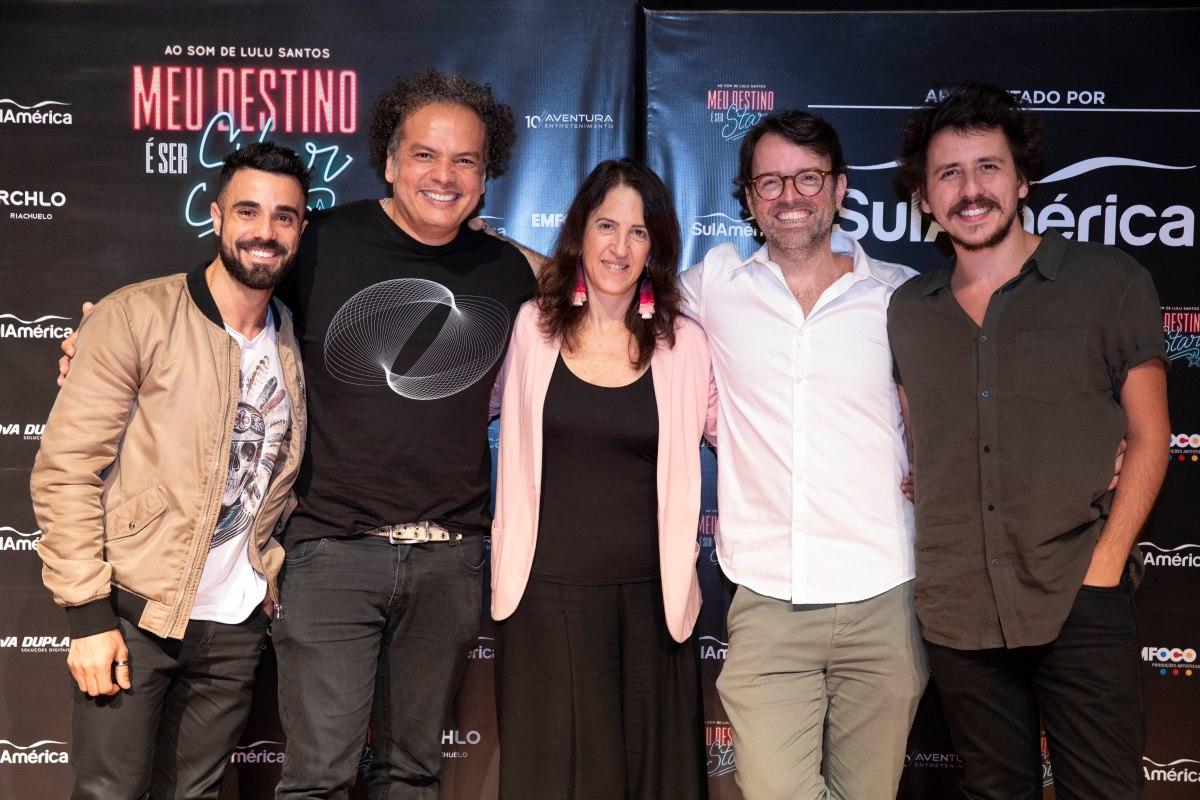 """""""Meu Destino é Ser Star"""" estreia em janeiroe traz no repertório a obra de Lulu Santos"""